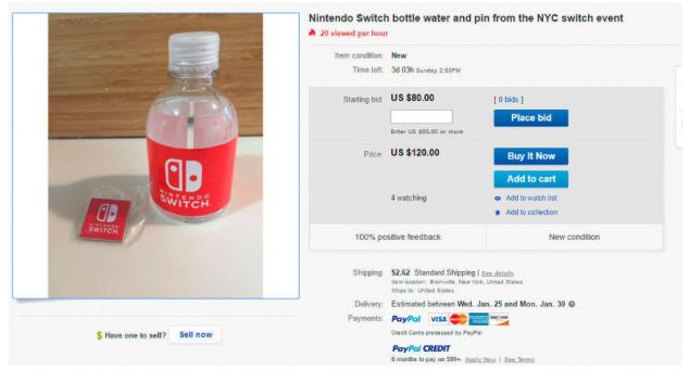 subastan-las-botellitas-agua-la-presentacion-nintendo-switch-frikigamers.com