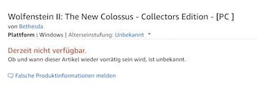 WolfensteinIITheNewColossus-amazon-frikigamers.com