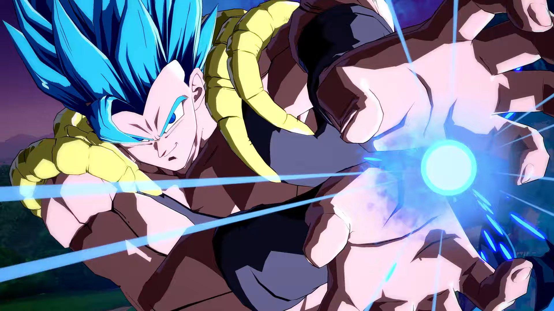 Mira Pelear A Gogeta Blue En Dragon Ball Fighterz Frikigamers