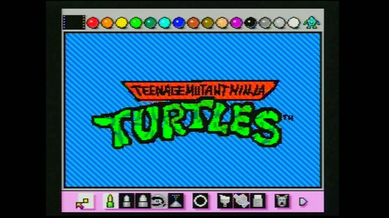 teenage-mutant-ninja-turtles-intro-animated-with-mario-paint-by-mike-matei-frikigamers-com
