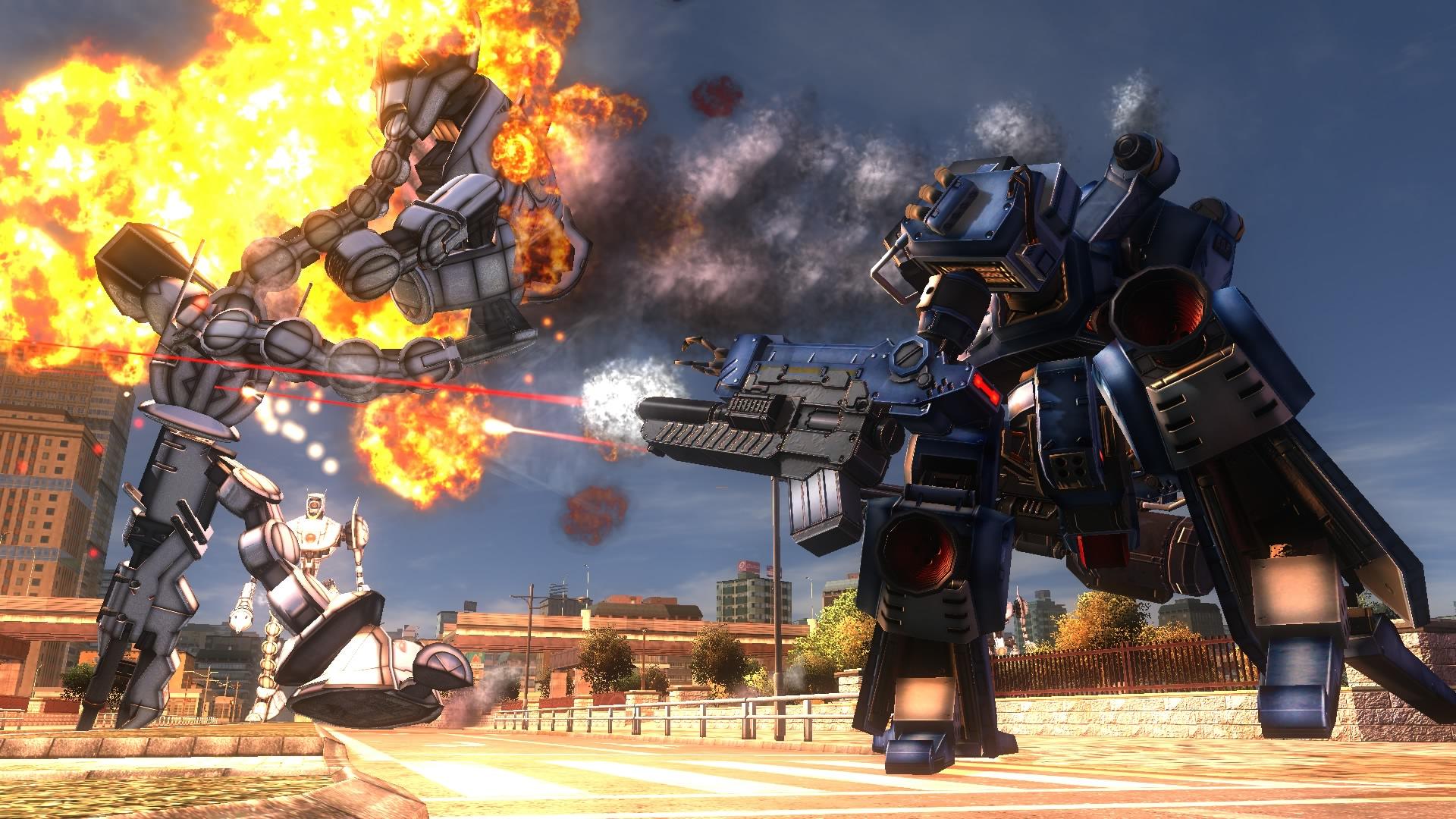 Chequea el nuevo Gameplay de Earth Defense Force 5-frikigamers.com