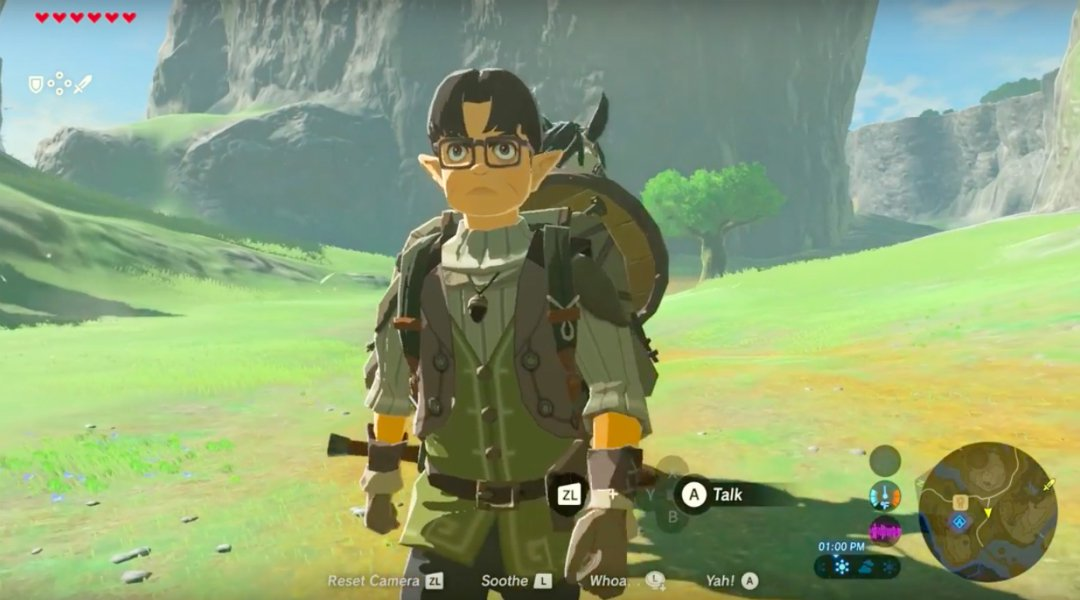 Zelda-Breath-of-the-Wild-Iwata-Tributo-frikigamers.com