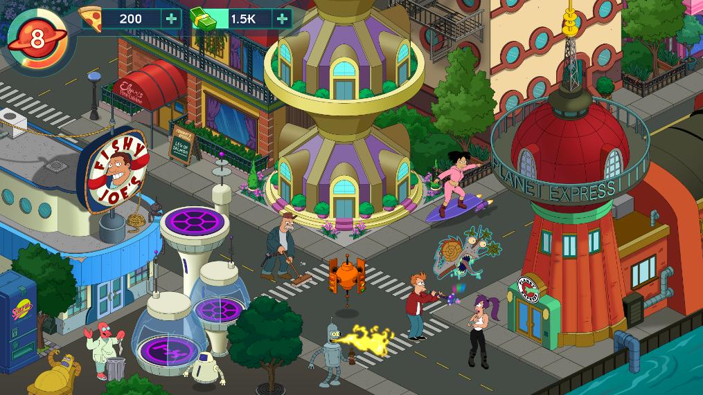 Futurama-para-iPhone-iPad-y-Android-frikigamers.com
