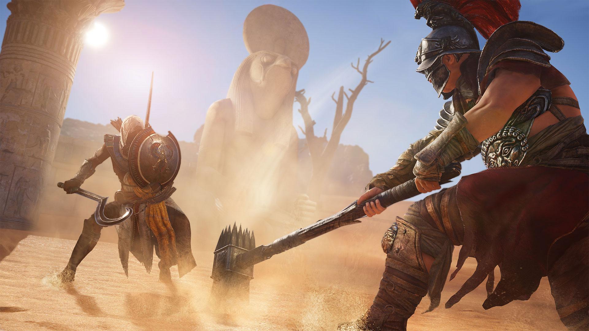 mira-estos-19-minutos-jugabilidad-assassins-creed-origins-xbox-one-x-frikigamers.com