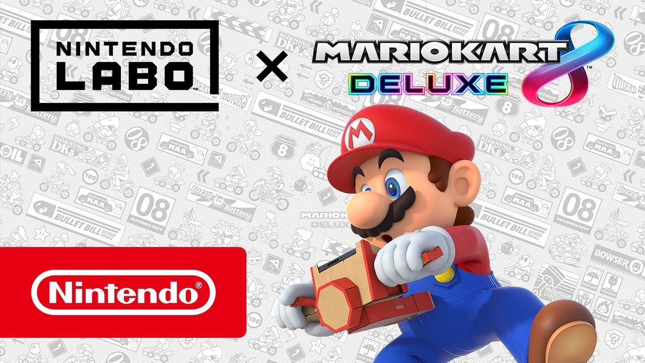 mario kart 8 deluxe para nintendo switch se ha actualizado para nintendo labo friki gamers. Black Bedroom Furniture Sets. Home Design Ideas