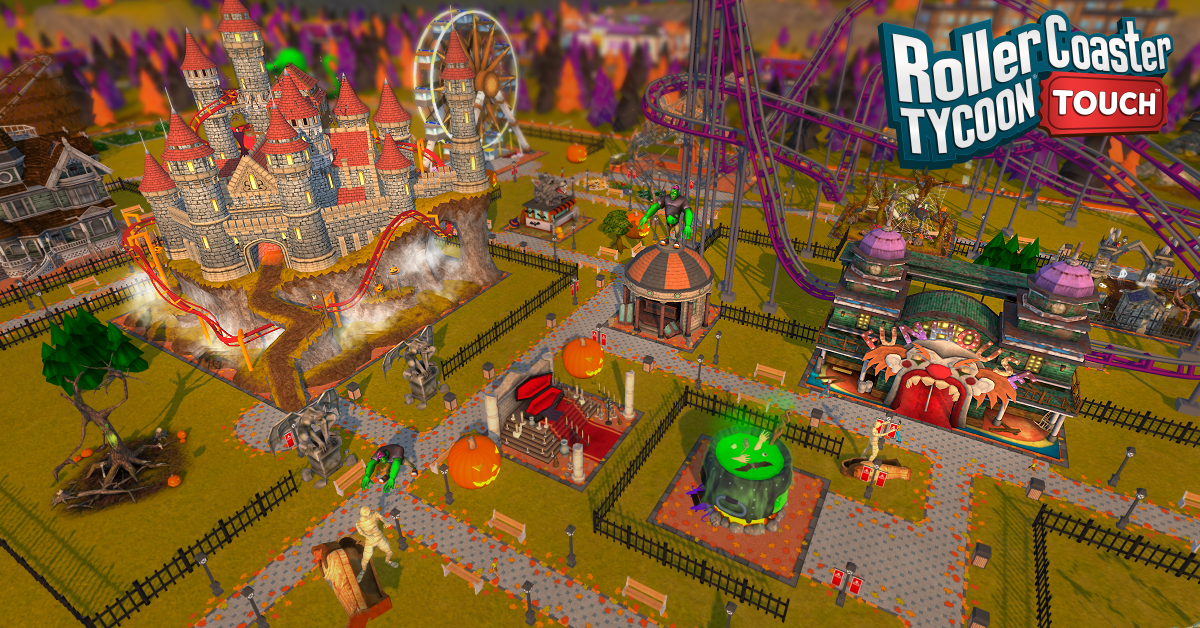 whats-new-in-the-rollercoaster-tycoon-touch-halloween-update-frikigamers.com.jpg
