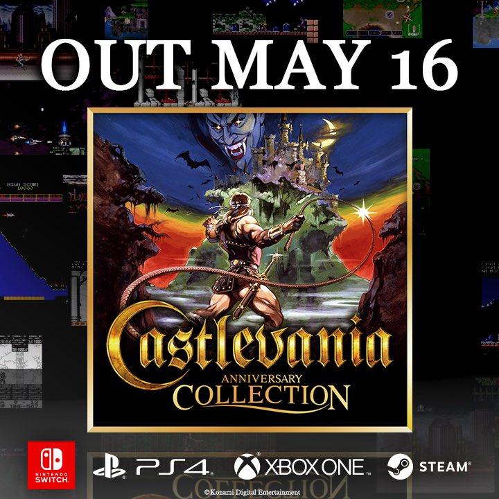 conoce-los-ocho-juegos-de-la-castlevania-anniversary-collection-frikigamers.com